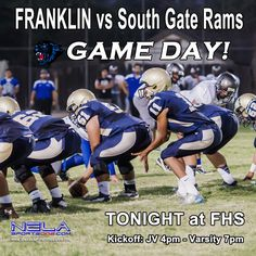 2014 Franklin Panthers vs South Gate Rams