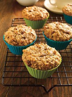 Ensemble De 24 Mini Moules à Muffin Ricardo En Silicone Bran Muffins, Baking Muffins, Oatmeal Muffins, Mini Muffins, Dessert Ricardo, Bon Dessert, Healthy Breakfast Muffins, Breakfast Ideas