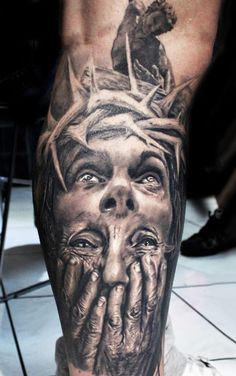Realism Religious Tattoo by Proki Tattoo