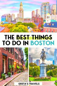 The Best Things to do in Boston - how to explore Boston like a local! Planning a trip to Boston? Find out everything you need to know with this local's travel guide. Including the best places to eat, typical activities locals do in their free time, off the beaten track places to discover and much more! #boston #unitedstatesofamerica #usa Beautiful Places To Visit, Cool Places To Visit, Places To Travel, Travel Destinations, Amazing Places, Usa Travel Guide, Travel Usa, Travel Tips, Travel Guides