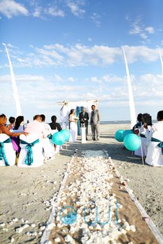 Tybee Island Wedding Coastal Creative Events Beach Als And Decor Www Coastalcreativeweddings