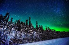 Aurora Boreal - Fairbanks #travel