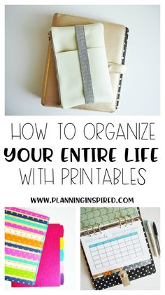 How to organize your whole life with printables- where to find them, how to store them, what printables you need, and more!