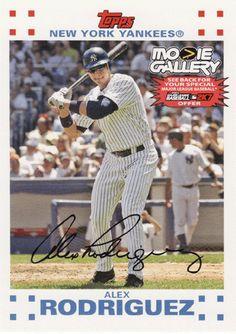 Alex Rodriguez # NNO - 2007 Topps Opening Day Baseball Movie Gallery