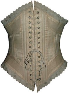Antique corsets - Sportswoman's Riding Corset  www.pinterest.com/wholoves/corsets  #corsets