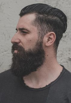 Growing a Ducktail beard is not easy for all, but simple for few. Here are 6 Reasons Why you Should Opt for Ducktail Beard Look. Beard Styles For Men, Hair And Beard Styles, Sideburn Styles, Thick Beard, Vintage Gentleman, Beard Look, Sideburns, Long Beards, Beard Growth