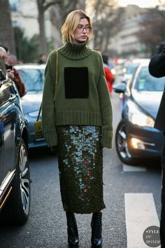 hailey baldwin - paetês + tricô / looks de inverno / winter looks / sequins