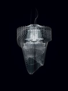 Aria Transparent by Zaha Hadid for Slamp