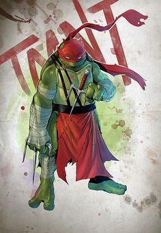 TMNT - Raphael by Coliandre ★ Find more at http://www.pinterest.com/competing/
