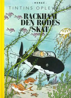 Tintins Oplevelser: Rackham den Rødes Skat (Hergé, 1944)   Planet Pulp