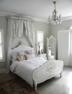 Charming and timeless, white shabby chic furnishings transform your home into a welcoming retreat. See inspiration for bedrooms, bathrooms, and more.