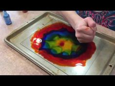 Fire and Alcohol Ink Artwork - YouTube