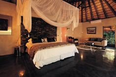 Pondoro Game Lodge in Balule, South Africa - The world's best boutique hotels National Park Lodges, Game Lodge, Best Boutique Hotels, Private Games, Pretty Room, Rustic Interiors, Hotels And Resorts, South Africa, Game Reserve