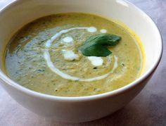 Koolhydraatarme courgettesoep Hummus, Ethnic Recipes, Om