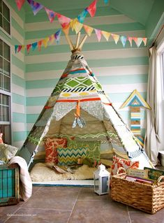 Indoor Teepee
