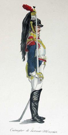 Cuirassier de l'armée francaise