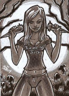 Erotic drawings of buffy the vampire slayer