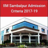 IIM+Sambalpur+Admission+Criteria+2017-19:+Cutoff+reduces+for+reserved+categories