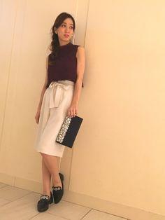 yukaさんのシャツ/ブラウス「JILLSTUART シャーリーンレースブラウス」を使ったコーディネート