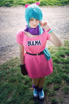 DRAGONBALL Bulma Cosplay by KaptainLexx.deviantart.com on @DeviantArt