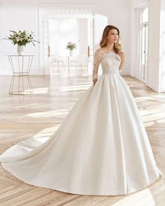 Looking for Aire Barcelona North Lace Sleeve Ballgown Wedding Dress ? Check out our picks for the Aire Barcelona North Lace Sleeve Ballgown Wedding Dress from the popular stores - all in one. Wedding Dress Prices, Custom Wedding Dress, Lace Wedding Dress, Wedding Suits, Lace Sleeves, Dresses With Sleeves, Bridal Gowns, Wedding Gowns, Body Dentelle