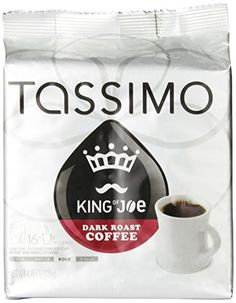 Tassimo King of Joe Dark Roast 16Count  445 Oz *** You can get additional details at the image link.