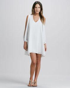 Slit-Sleeve Dress  $150