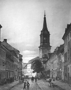 1828 Klosterstrasse mit Parochialkirche