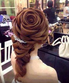 Amazing hairstyle <3