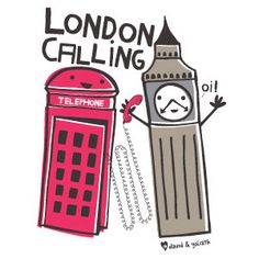 David & Goliath Tees - London Calling (Pajamas)