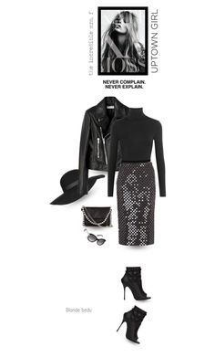 """""""Make today so awesome, yesterday gets jealous"""" by blonde-bedu ❤ liked on Polyvore featuring Topshop, STELLA McCARTNEY, Wolford, Cédric Charlier, Philipp Plein, women's clothing, women, female, woman and misses"""