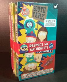 South Park VHS Tapes Vol 7 8 9 Comedy Central Cartman Mom Slut Not On DVD 1997 in DVDs & Movies, VHS Tapes | eBay
