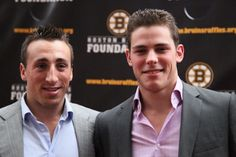 Brad Marchand # 63 and Tyler Seguin #19