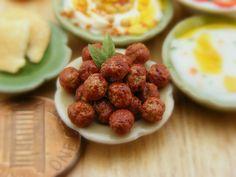 Falafel 112 Scale Dollhouse Miniature Food by shayaaron on Etsy