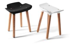 The Pilot Stool was created by Austrian design firm Rampelotto+Pernkopf for the Belgian label Quinze & Milan.