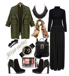 Hijab outfits by mennah-ibrahim on Polyvore featuring polyvore fashion style Boohoo Dune Karen Walker Dsquared2 Adoriana Bindya clothing