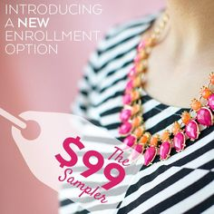 We are Excited to Announce a New Enrollment Option!! The $99 Sampler!! Starting today, just $99 enrolls you as a new TuVous consultant!!