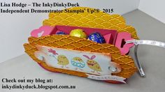 The InkyDinkyDuck: For Peeps' Sake Check Out This Cute Carriage http://inkydinkyduck.blogspot.com.au/ http://www.stampinup.net/esuite/home/inkydinkyduck/ For Peeps' Sake, Easter, circle punch, Big Shot, Apothecary Accents framelits, Bitty Banners framelits, Fancy Fan embossing folder, Simply scored scoring tool, many marvellous markers, sticky strip, Weekly deals, Sale-A-Bration, Occasions Catalogue, Australia, Stampin' Up!, Cameron Park, NSW, 2285, Lake Macquarie, Newcastle, Maitland
