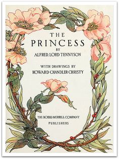 The Princess illustrated by Howard Chandler Christy 1911 - Title Page | Flickr - Photo Sharing!