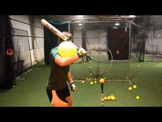 Hand Path To Home Runs - Hitting Drills for Baseball & Softball - YouTube