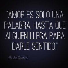 #Amor #PauloCoelho @Paulo Fernandes Fernandes Fernandes Coelho