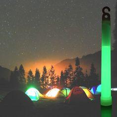 Glow Stick Wedding, Glow Stick Party, Glow Sticks, Camping Items, Tent Camping, Glow Jars, Imagines, Centre Pieces, Bright Decor