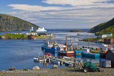 Stranded Iceberg Trinity Bay Newfoundland - Photo & Travel Idea Canada