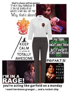 """""""a very potter musical"""" by fan-fasion on Polyvore featuring M&Co, George, harrypotter, music, fandom, OC and averypottermusical"""