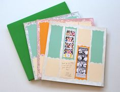 Photobooth Scrap Book Wedding Guest Book by MySweetDay on Etsy, $160.00