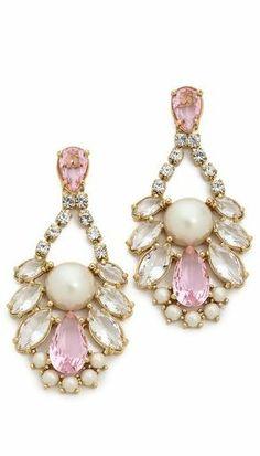Kate Spade New York Sunrise Cluster Cupchain Chandelier Earrings  - Shopbop