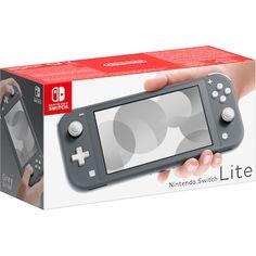 Nintendo Switch Lite EU pelikonsoli (harmaa) - Konsolit - Gigantti