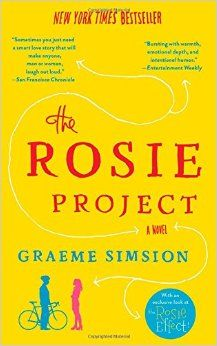 Really fun read--fascinating insight into Aspbergers, but still a sweet romantic comedy.