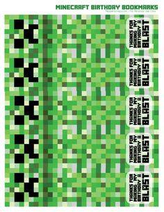 minecraft bookmark template - minecraft chore chart free minecraft chore chart award
