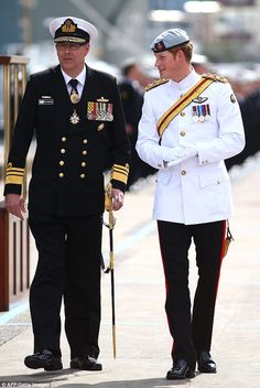 Prince Harry in Sydney for Fleet Review 5th October 2013